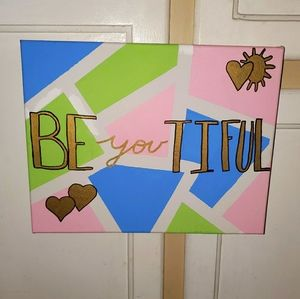 Be YOU tiful Handmade Picture